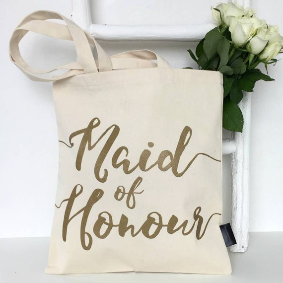 Wedding Gifts From Maid Of Honor To Bride: Maid Of Honour Wedding Gift Bag