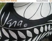 VINTAGE 60s FLOWER POWER Pop Art Vera Scarf Mod Scarf Classic