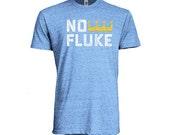 Kansas City Royals Eric Hosmer Inspired No Fluke Tee - Heather Blue