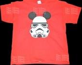 Mouse Stormtrooper T-Shirt, Short Sleeve Disney Vacation Tshirt, Stormtrooper Tee, Mouse Ears Tshirt, Going to Disney Shirts, Star Wars Tee