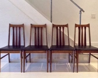 Mid Century Modern dining chairs set of four