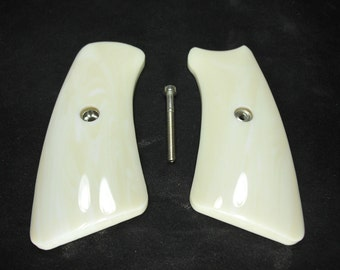 Abalone Pearl Ruger Gp100 Grips Inserts