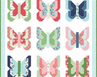 Social Butterfly - Quilt Pattern by Lella Boutique