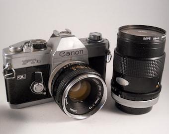 Canon FTb QL film camera