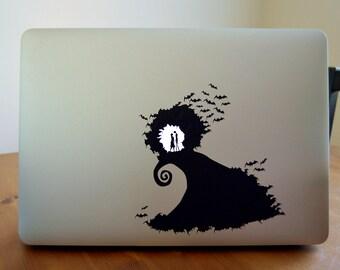 Nightmare Before Christmas Macbook Sticker