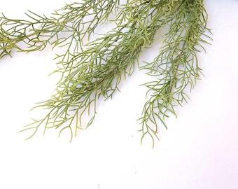 Spanish moss, tillandsia, faux Spanish moss, faux tillandsia, AP003, faux air plant, air plant wall, hanging air plant, hanging tillandsia
