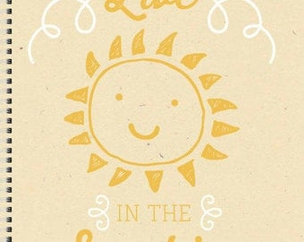 Personalized Journal -  Live In The Sunshine Journal