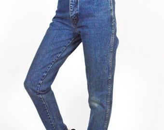 90's Blue Stonewash Denim Distressed High Rise Jeans size - XS/S