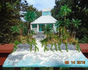 Bahama Beach House Diorama