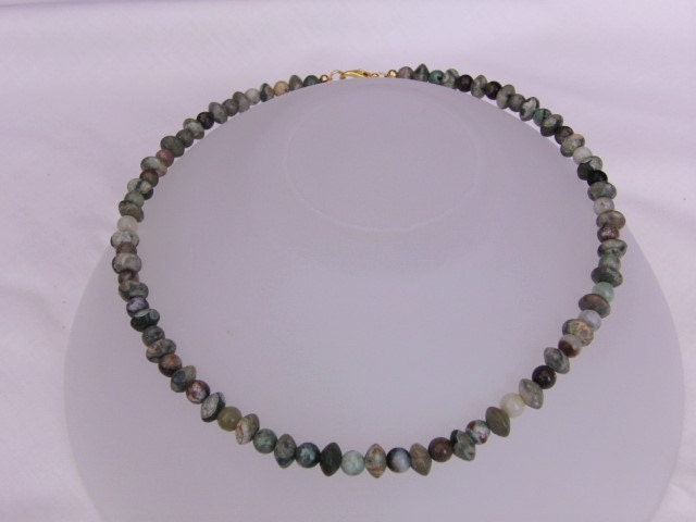 mens beaded jade necklace mens necklace mens jewellery