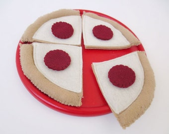 Felt Food Pepperoni Pizza