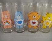 Care Bears Drinking Glasses Set of 4