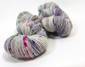 Hand dyed Yarn Superwash Merino Amanda Worsted 'Paint' Swoon Fibers OOK