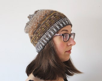 Toque, Hat, Knitted FairIsle, for men and women