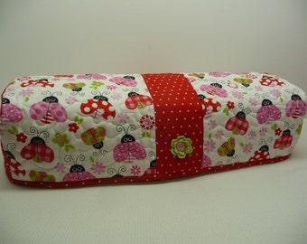 Lovely Ladybugs - Quilted Cricut Explore Cozy - Explore Cozy - Explore Dust Cover
