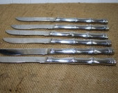 Stainless Steel Steak Knives with Box - made in Japan - set of 6 - item #1377