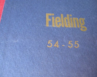 Fielding's Travel Guide to Europe: 1954-55 Temple Fielding Hardcover