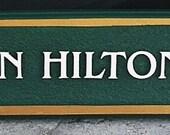 Morgan Hilton sign final balance