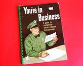 """Vintage Texaco How to Run a Service Station Booklet """"You're in Business"""" Memorablia Gas Station ephemera"""