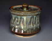 Stoneware Ceramic Jar Handmade Pottery Canister A