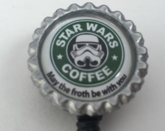 May the froth be with you badge