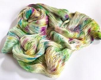 Ameratsu Silk Cobweb Lace. Summer's Last Call.