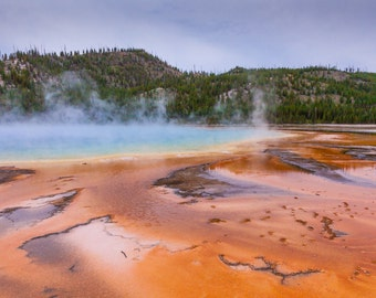 Grand Prismatic Spring - Yellowstone National Park photograph