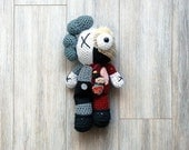 Crochet Dissected Kaws Companion Doll