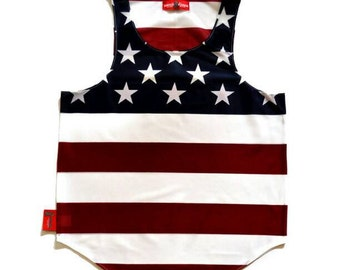 """USA """"Home of The Brave"""" Tank Top by Chris Cardi"""