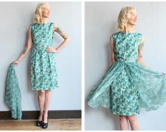 1960s Dress // Day & Night Dress // vintage 60s dress