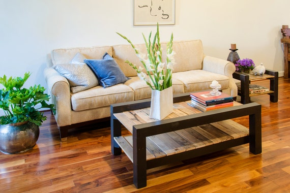 """20"""" x 20"""" side tables / works great with H Street and Step coffee table"""