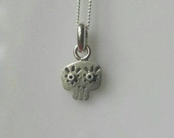SUGAR SKULL silver ( 925 ) pendant