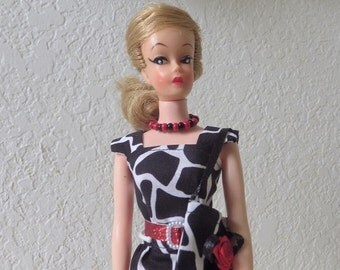 Wendy Clone Doll by Elite Creations. 1960s. Wearing a handmade ensemble by ETSY GalleryofCrafts