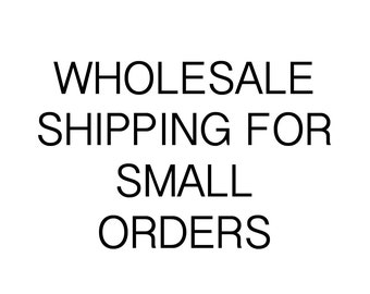 Wholesale small order shipping
