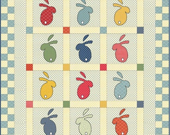 Bread 'n Butter - Bunny Tales Quilt Pattern by Sandy Klop for American Jane