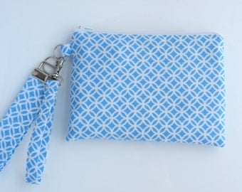 Clutch Wristlet, Clutch with Strap, Cellphone Wristlet Wallet, Clutch Purse,  Key Fob, Gift Set for Her, Handmade, Ready to Ship