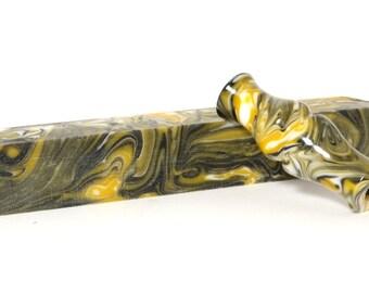 "Resin / Acrylic Pen Blank ... ""Hornet"" 54"