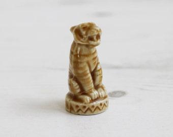 Wade Whimsies - Tiger Circus Pound Red Tea  - Miniature Figurine