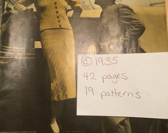 Set of Three 1930's Knitting Pattern Books