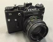 Vintage Russian Zenit 11 SLR 35mm camera
