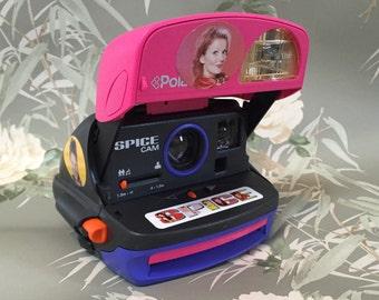 polaroid 600 camera spice cam