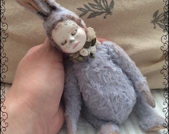 Artist Rabbit OOAK