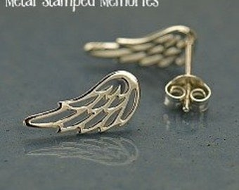 Open ANGEL WING Earrings made of Sterling Silver
