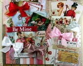 Charming Cherubs Valentine Creativity Kit 70 Piece Kit Paper  Images Bows