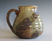 EXTRA LARGE Coffee Mug, 31 oz, handmade ceramic cup, handthrown mug, ceramic stoneware pottery mug unique coffee mug ceramics and pottery