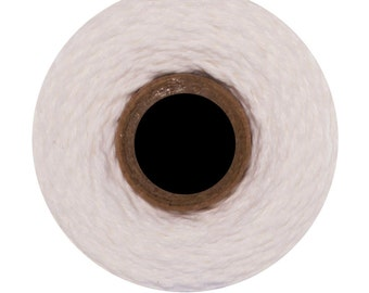 Solid White Divine Twine (240 yards) Solid White
