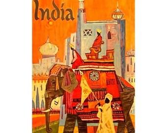 INDIA 22S- Handmade Leather Photo Album - Travel Art
