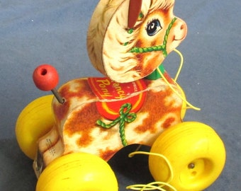 Fisher-Price Toy 617 Prancing Pony