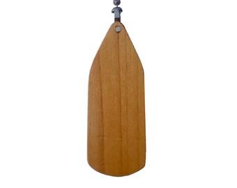 Wood Ceiling Fan Pull Chain-Cherry-Fan Blade Shape