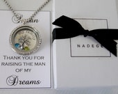 Mother of the Bride Necklace Mother of the Groom Necklace Mother of the Groom Gift Mother of the Bride Gift Family Necklace Family Jewelry